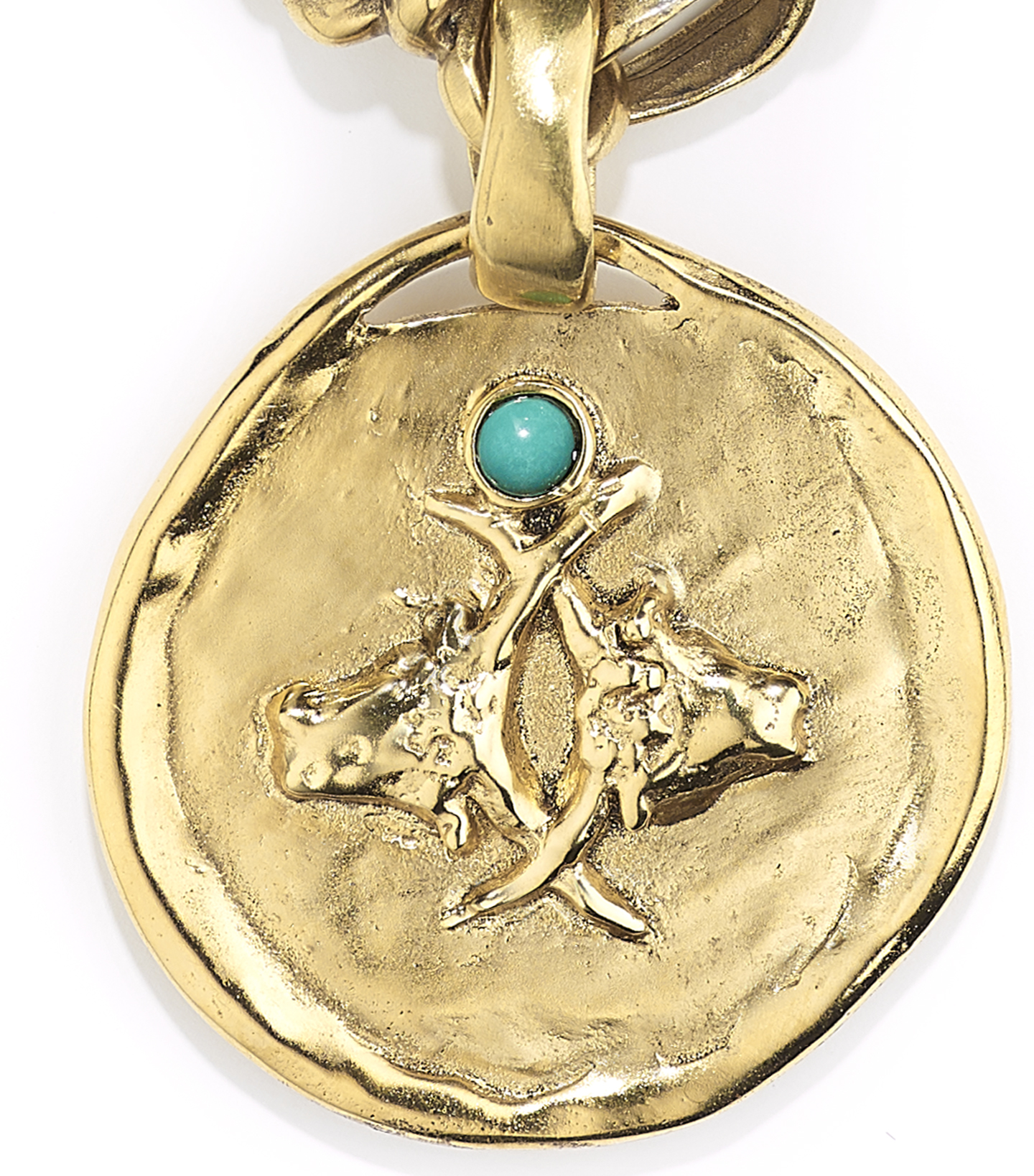 TALISMAN taurus medal necklace CROP